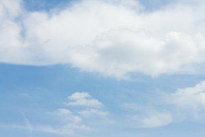Cloudscape in Belgium