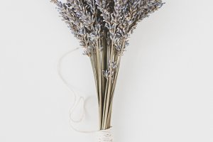 Irish lavender bouquet