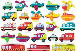 Emergency Clipart and Vectors
