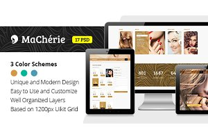 MaCherie — Wellness & Spa PSD Theme