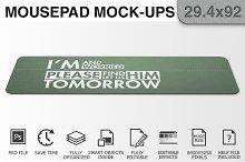Mousepad Mockups - 29.4x92 - 2