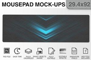 Mousepad Mockups - 29.4x92 - 3