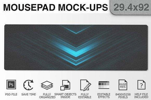Mousepad Mockups - 29.4x92 - 3 - Product Mockups