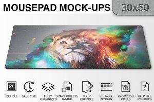 Mousepad Mockups - 30x50 - 1