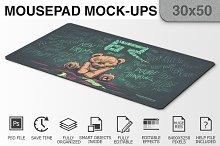 Mousepad Mockups - 30x50 - 3