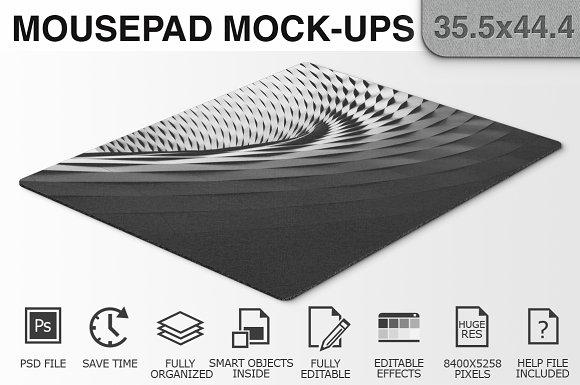 Mousepad Mockups - 35.5x44.4 - 1