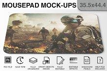 Mousepad Mockups - 35.5x44.4 - 2