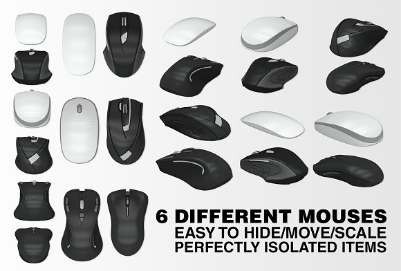 Mousepad Mockups - 35.5x44.4 - 2 in Mobile & Web Mockups - product preview 4