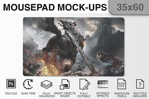 Mousepad Mockups - 35x60 - 3