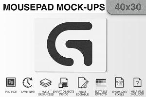 Mousepad Mockups - 40x30 - 1