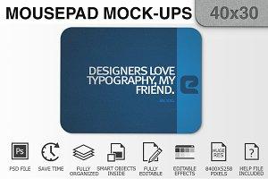 Mousepad Mockups - 40x30 - 2