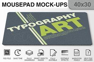 Mousepad Mockups - 40x30 - 3
