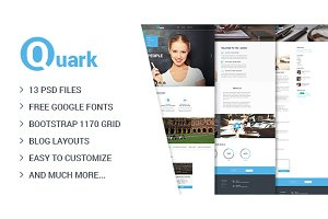 Quark — Education|Courses PSD Theme