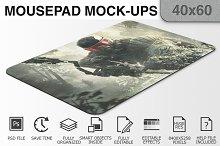 Mousepad Mockups - 40x60 - 2