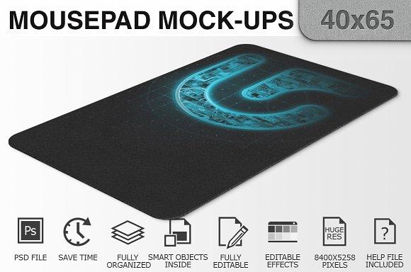 Mousepad Mockups - 40x65 - 2
