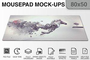 Mousepad Mockups - 80x50 - 1