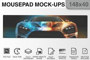 Mousepad Mockups - 148x40 - 3