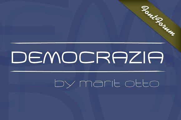 Democrazia Bold