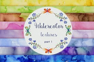 Part 1 Watercolor Backgrounds