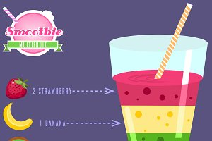 Multifruit smoothie