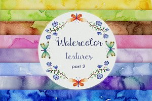 Part 2 Watercolor Backgrounds