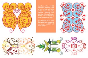 Naive Ornaments Vector Collection