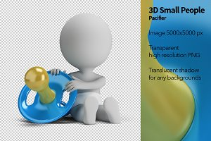 3D Small People - Pacifier