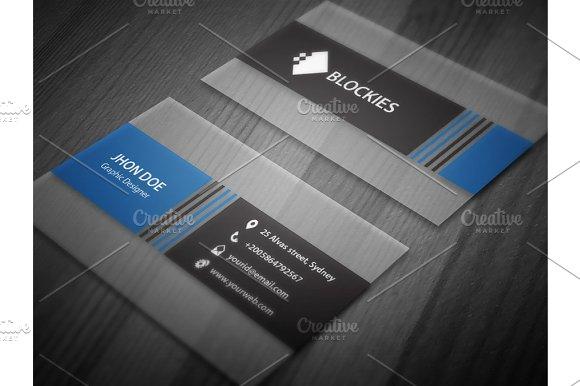 Semi transparent business card business card templates creative semi transparent business card business card templates creative market colourmoves