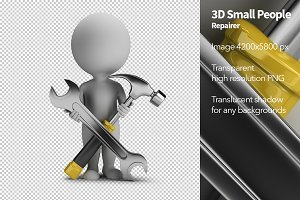 3D Small People - Repairer