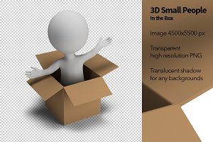 3D Small People - In the Box