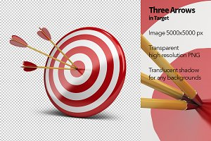 Three Arrows in Target