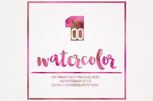 (%75 OFF)Watercolor Pack+Live Pack