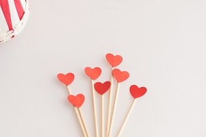 Valentine heart toppers -50%
