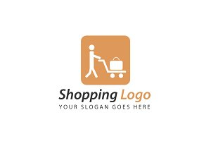 Exclusive Shopping Logo Template
