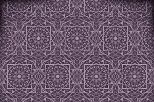 Arabic geometric background