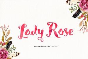 Lady Rose Typeface