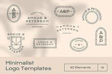 Minimalist Logo Templates