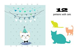 Cats. Vector & Clipart