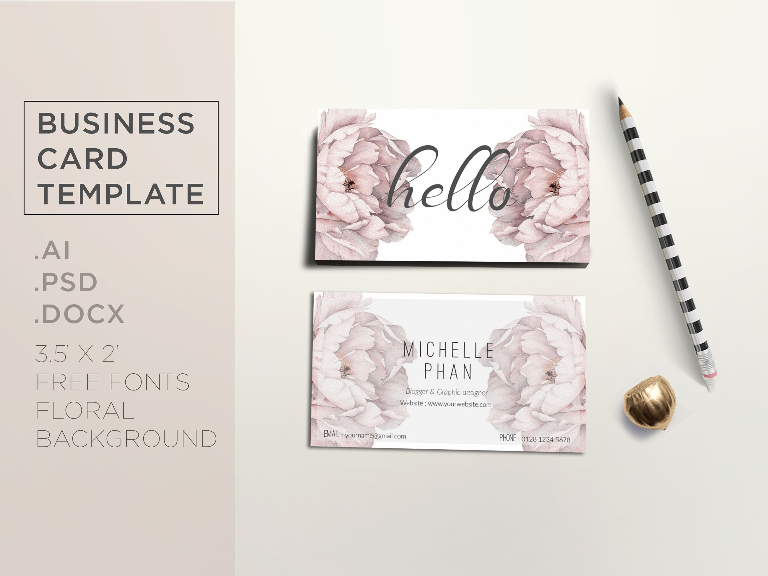 Elegant business card template business card templates creative elegant business card template business card templates creative market cheaphphosting Images