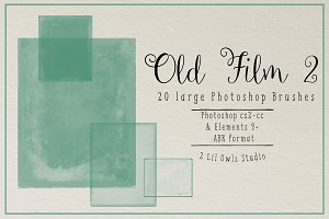 Old Film Photoshop Brushes set 2