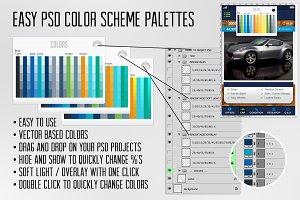 Easy PSD Color Scheme Palette