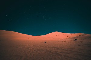 Sahara by night
