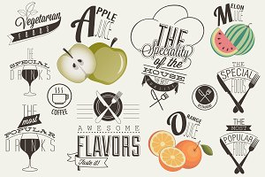 Menu and food design