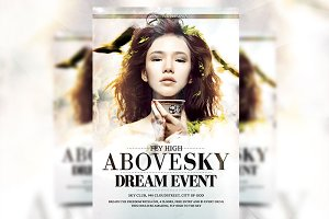 Above Sky - Flyer Template