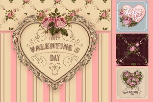 Valentine's or wedding collection.