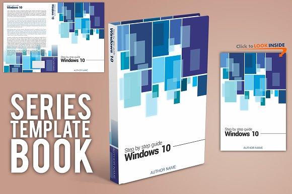 book template guide series magazine templates creative market