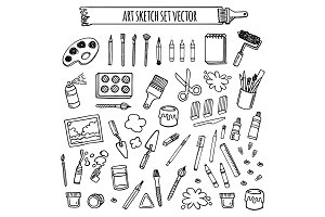 art vector set