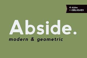 Abside Font (Modern & Geometric)