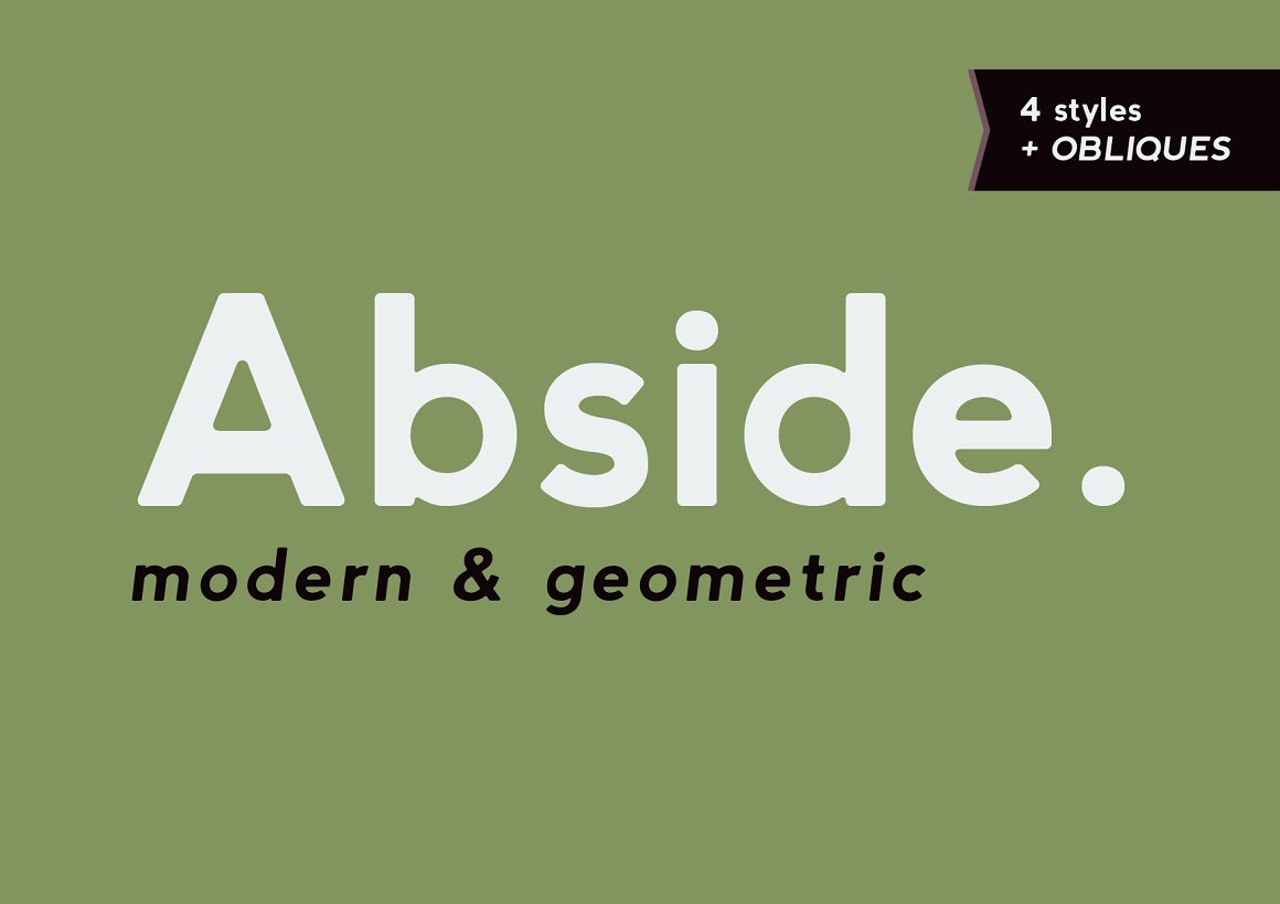 20 Geometric Sans Serif Fonts That Are Perfect For Logo