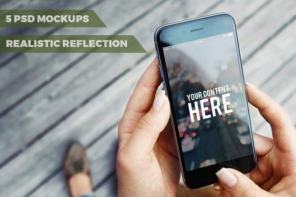 Download 5 PSD Mock-ups